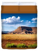A Perfect Day Out West Duvet Cover