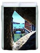 A Piece Of Venice Duvet Cover