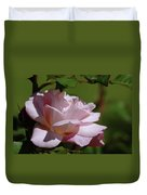 A Pink Rose  Duvet Cover