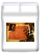 A Pirates Map Room Duvet Cover