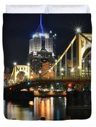 A Pittsburgh Panorama Duvet Cover