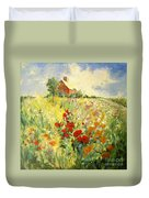 A Place To Be II Duvet Cover