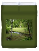 A Place To Dream Awhile Duvet Cover