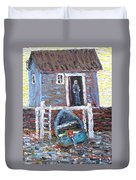 A Place To Get Away From It All Duvet Cover