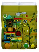 A Place To Grow II Duvet Cover