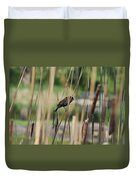 A Plumage Sparrow Duvet Cover