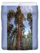 A Poem Lovely As A Tree.   Duvet Cover