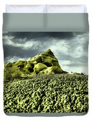 A Pointed Hilltop Duvet Cover