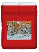 A Polar Bear Christmas Duvet Cover