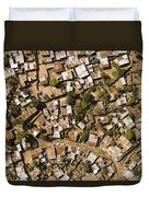 A Poor Neighborhood In Urban Maputo Duvet Cover