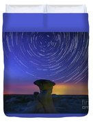 A Portal To Bisti Badlands Duvet Cover