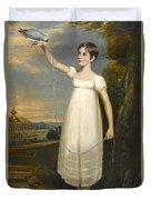 A Portrait Of Ellen Smith Of Nottingham Duvet Cover