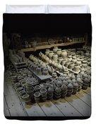 A Potter's Storehouse Duvet Cover