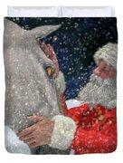 A Present For Santa Duvet Cover