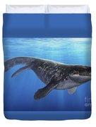 A Prognathodon Saturator Swimming Duvet Cover