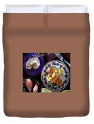 A Provence Luncheon Duvet Cover