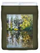 A Quiet Afternoon Reflection Duvet Cover