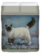 A Himalayan Cat Duvet Cover