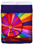 Temecula, Ca - A Rainbow Of Colors Duvet Cover