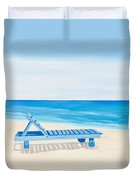 A Relaxing Day Duvet Cover