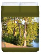 A River Walk Duvet Cover