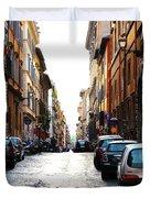 A Rome Street Duvet Cover