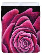 A Rose In Time Duvet Cover