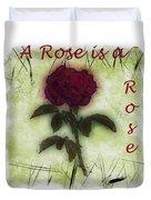 A Rose Duvet Cover