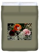 A Rose To You Duvet Cover