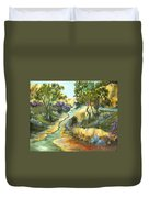 A Sandy Place To Rest Duvet Cover