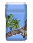 A Seagull Flyby Duvet Cover