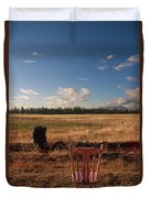 A Seat With A View Duvet Cover