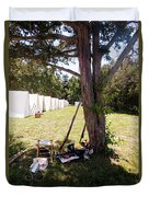 A Shady Retreat 1812 Duvet Cover