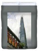 A Shard Day's Night Duvet Cover