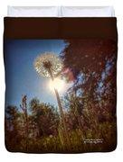 A Shiny Flower Day Duvet Cover
