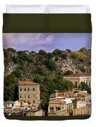 A Sicily View Duvet Cover
