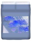 A Slanting Blue Wind  Duvet Cover