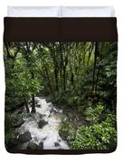 A Small River Flows Through A Dense Duvet Cover
