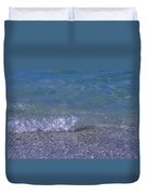 A Small Wave Ripples Onto Shore Duvet Cover