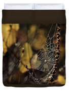A Spiders Creation Duvet Cover