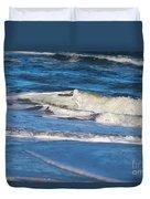 A Splash In The Surf Duvet Cover