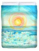 A Splash Of Dawn Duvet Cover