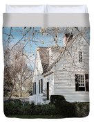 A Spring Day In Colonial Williamsburg Duvet Cover