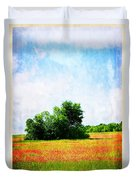 A Spring Day In Texas Duvet Cover