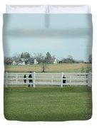 A Spring Recess Day Duvet Cover
