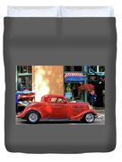 A Step Back In Time Duvet Cover