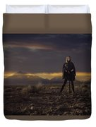 A Storms Brewing Duvet Cover