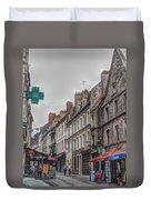 A Street In Boulogne Duvet Cover