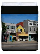 A Street In Perrysburg I Duvet Cover