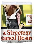 A Streetcar Named Desire Portrait Poster Duvet Cover